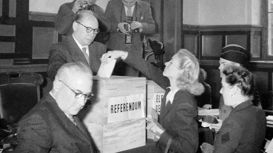 Droit de vote femme en france