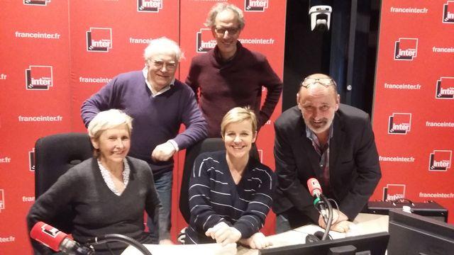 """""""Vous Les Femmes"""", de haut en bas : Albert Algoud, Hervé Pauchon, Danielle Thiéry, Céline Géraud, Daniel Morin"""