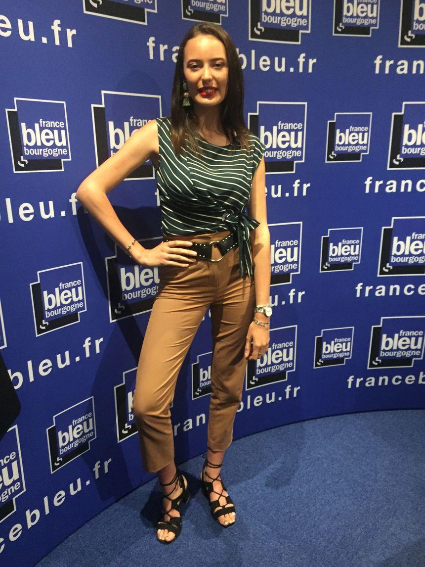 En fin de semaine dernière Manon Sauvageot était l'invité de France Bleu Bourgogne, elle nous racontait sa préparation.