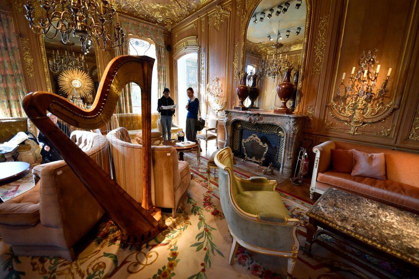 """""""Le Salon Proust"""" au Ritz à Paris, sélectionné pour les enchères du 17 avril 2018"""