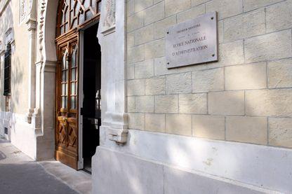 Facade de l'Ecole Nationale d'Administration (ENA), apres rénovation en 2008