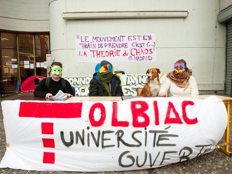 Université de Tolbiac - Paris - Première auto-conférence de la commune libre de Tolbiac le 4 avril 2018