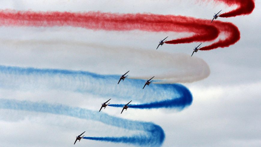 La patrouille de France en meeting aérien