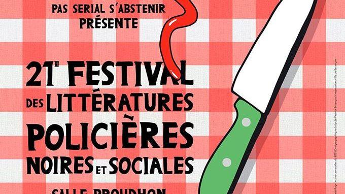 Thierry Loew pour le 21eme Festival des litteratures policières noires et sociales de Besançon