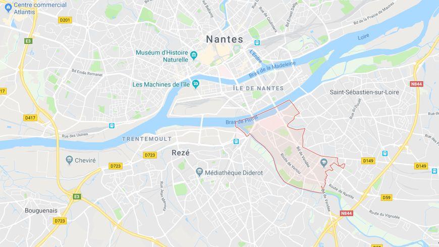 Le foyer où ont eu lieu les violences se trouve quartiers sud, à Nantes
