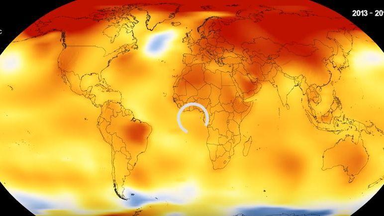 Les anomalies climatiques vues par la NASA