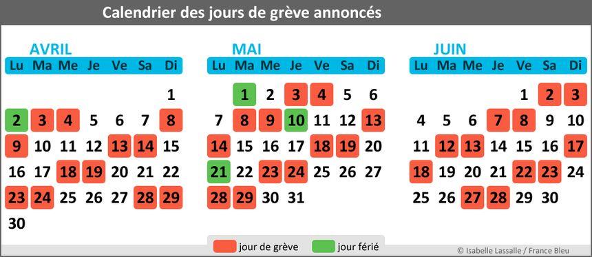 Calendrier Des Greves A La Sncf.Greve Sncf Previsions De Trafic En Paca Pour Le Lundi 18 Juin