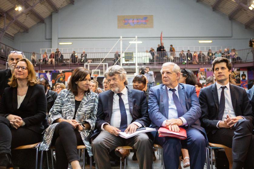 Jean-Louis Borloo lors des états généraux de la Ville à Paris, le 26 avril 2018