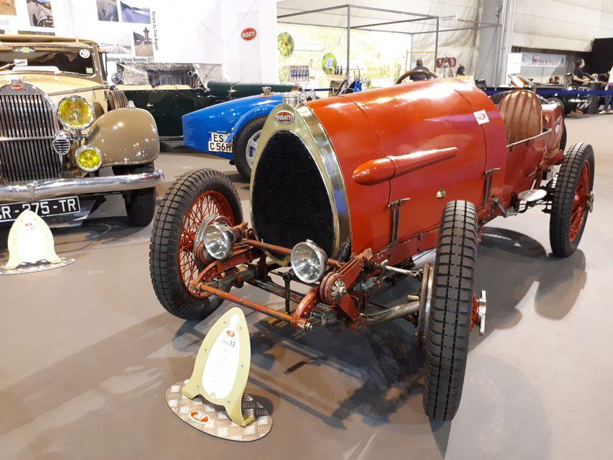 La Bugatti type 13 de 1922
