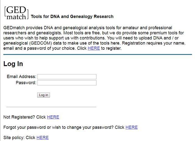 Le site GEDmatch rassemble 900 000 échantillons d'ADN de personnes qui recherchent des proches