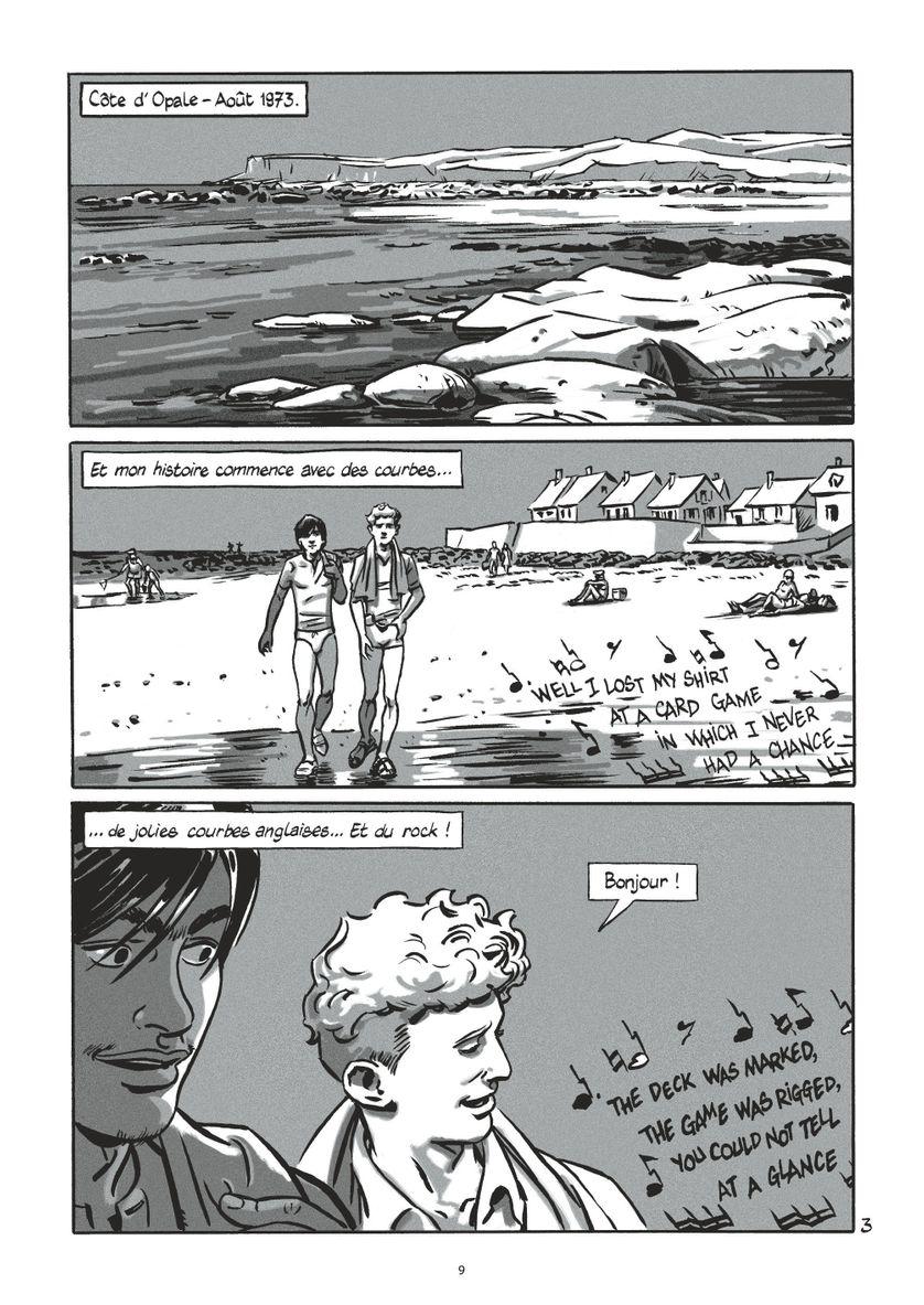 """""""Interférences"""" de Laurent Galandon et Jeanne Puchol"""