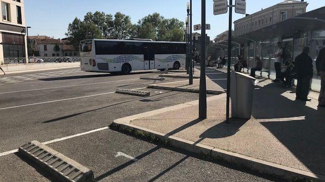 Aucun autocar n'a circulé ce dimanche en direction du Grau-du-Roi.