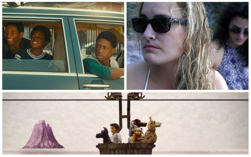 """En haut :Kaalan Walker, Lamar Johnson dans """"Kings"""" et Taelor Ranzau dans """"Southern Belle"""". En bas : """"L'île aux chiens"""""""