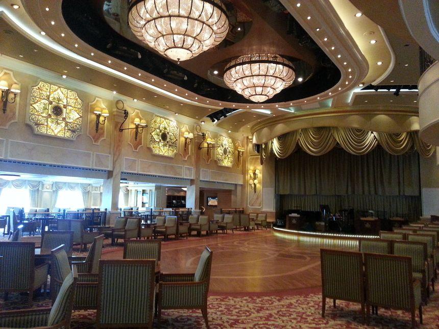 The Queen's rooms, la salle de bal