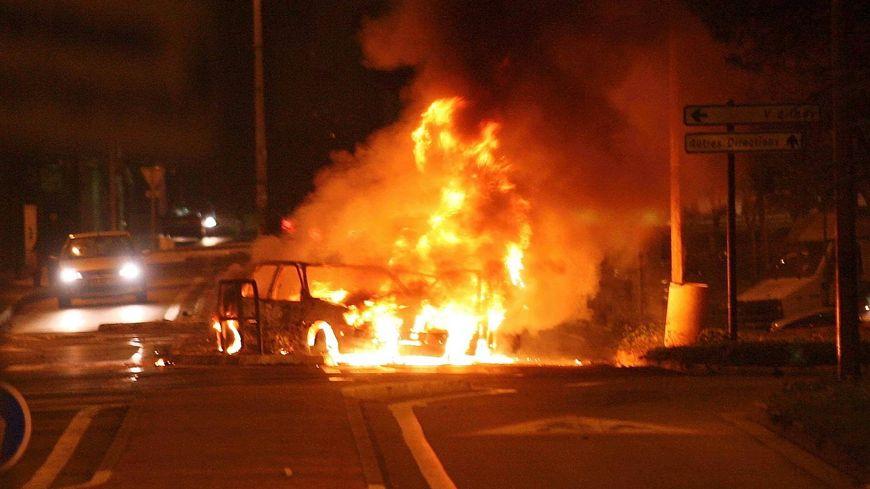 voiture incendiée au Mirail ( archives)