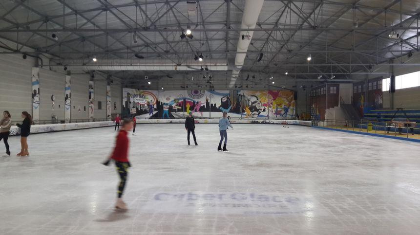 la patinoire Cyberglace à Monéteau