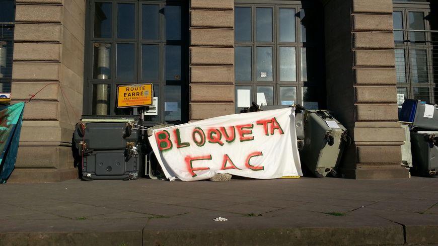 Douze bâtiments de la fac de Strasbourg sont désormais bloqués