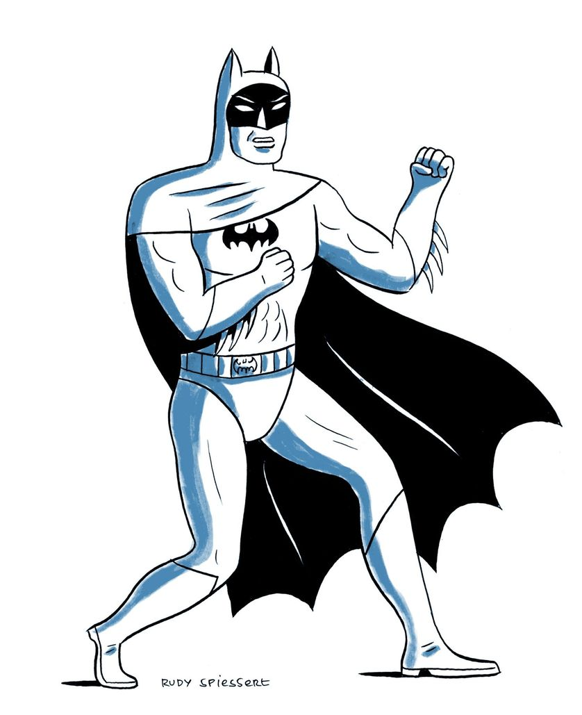 Batman a dessiner - Dessiner batman ...