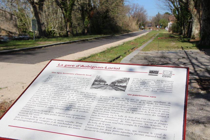 Un site chargé d'Histoire sur la Via Venaissia