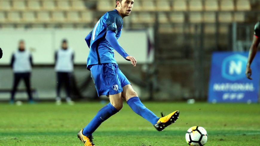 Le milieu de terrain Jessy Benet a inscrit le but de la victoire (1 - 0) vendredi face aux Herbiers