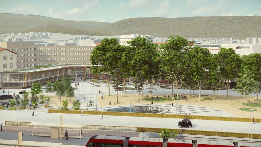 Prospective du projet pour la Place des Carmes