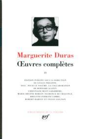 Œuvres complètes - Tome II, Marguerite Duras