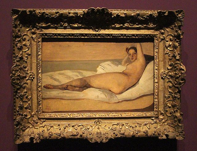 Corot - Marietta ou l'Odalisque romaine (1843)