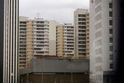 Immeubles à Bagnolet, dans la banlieue parisienne