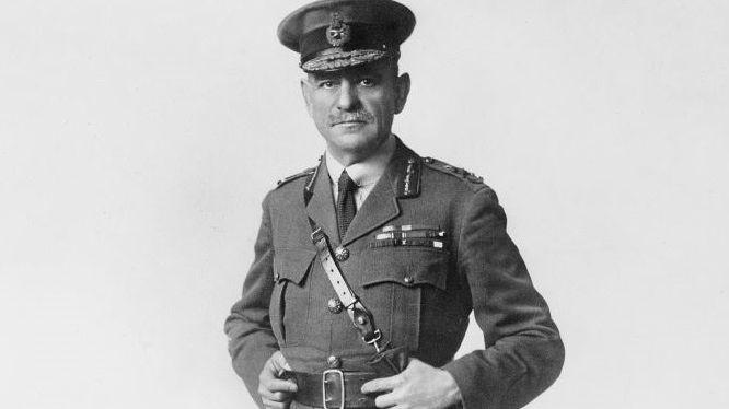Sir John Monash à Londres en 1918
