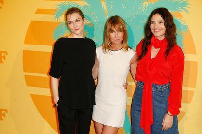 Marie-Josee Croze, Axelle Laffont et Virginie Ledoyen pour l'avant-première de MILF à Paris - 17 avril 2018