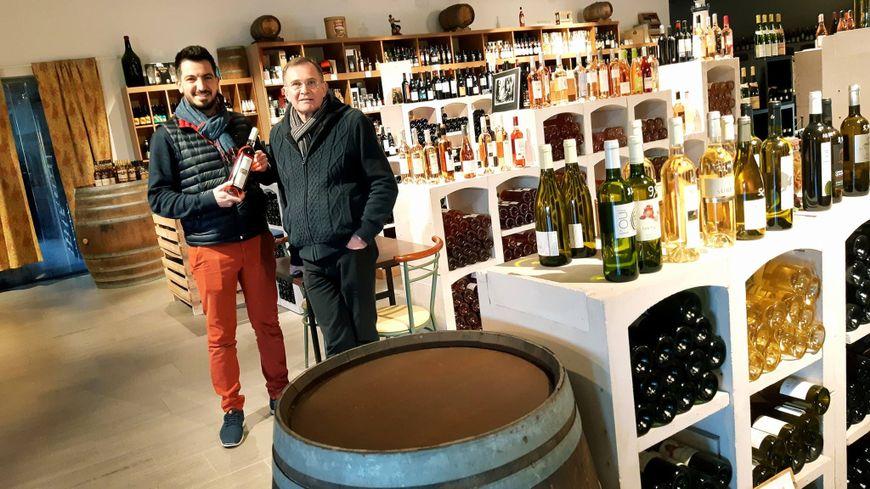 La cave Le Vignot à Louverné