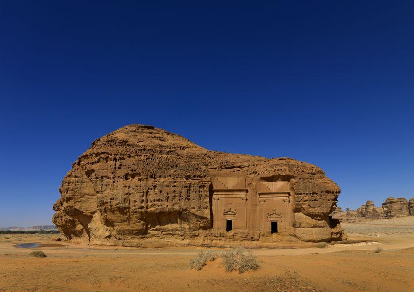 Le site archéologique d'Al-Ula, à Madain Saleh, dans le nord-ouest saoudien, est reconnu pour ses tombes nabatéennes.