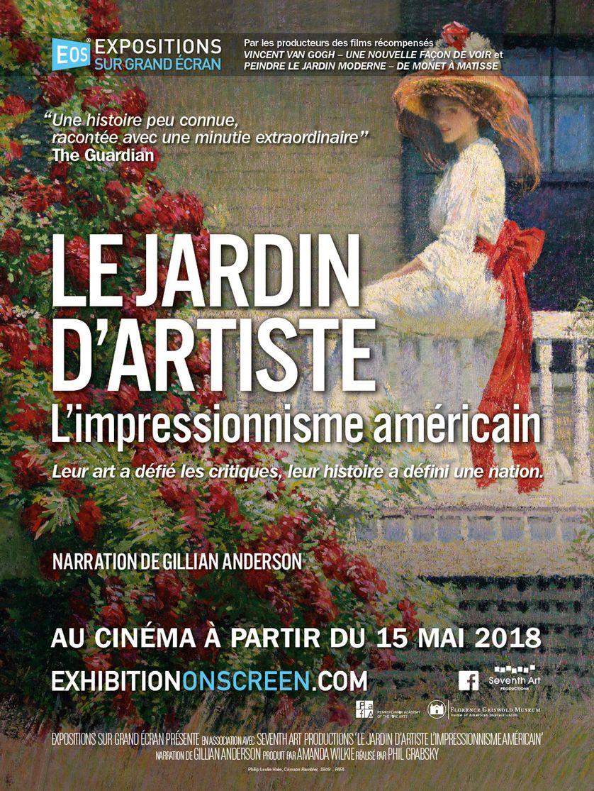 """Jardin À L Américaine expositions sur grand écran : """"le jardin d'artiste - l"""