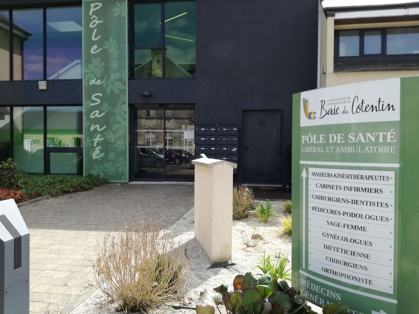 Ce centre de soins non programmés sera complémentaire au pôle de santé de Carentan-les-Marais.