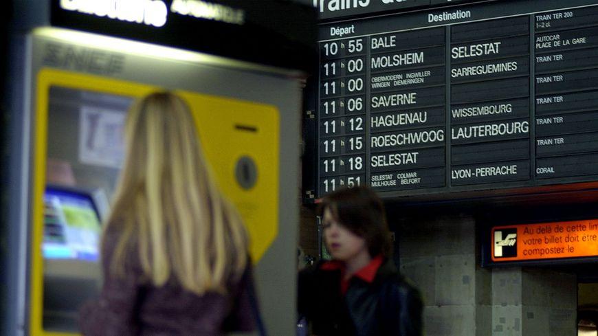 Le trafic des trains reste très perturbé en Alsace en cette 5e phase de grève perlée.