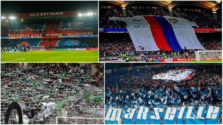 Paris, Lyon, Saint-Etienne, Marseille : gros plan sur les supporters de France avec L'Équipe