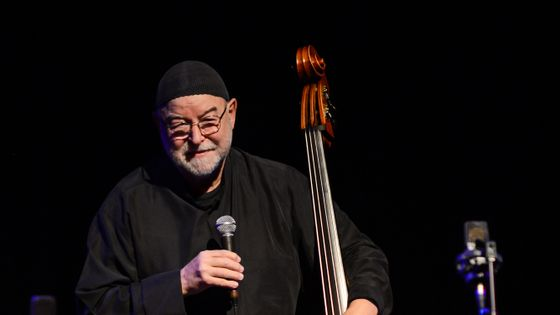 London Jazz Festival 2014 : Henri Texier sur la scène du Purcell Room le 16 novembre 2014