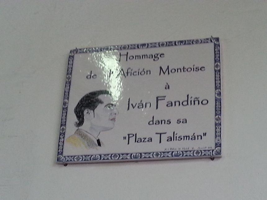 Un azulejo en hommage à Ivan Fandiño a été dévoilé - Radio France