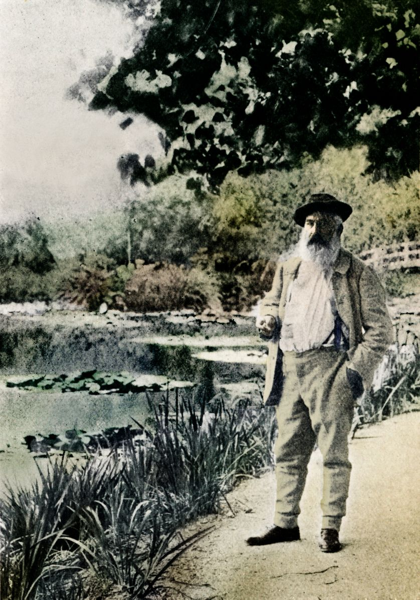 L Oeil De Claude Monet En Cinq Tableaux