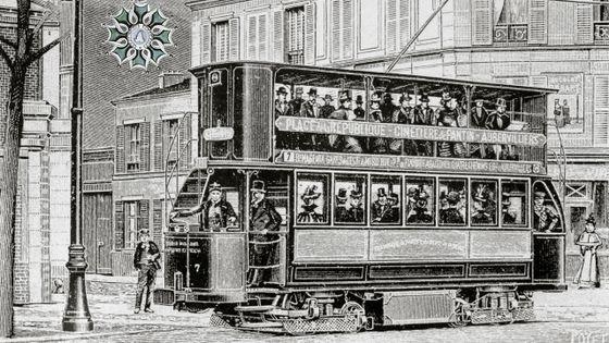 Tram éléctrique (Paris, XIXe siècle)