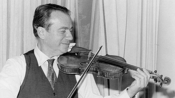Henryk Szeryng (GERMANY OUT) 1921 - 1988Geiger, Mexiko- Aufnahme 1972