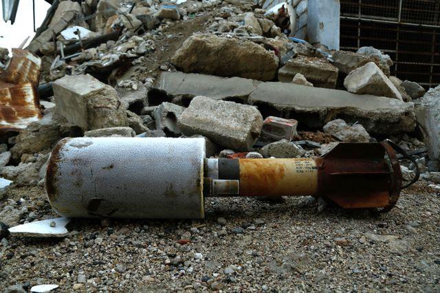 Une attaque présumée aux gaz toxiques – une enquête internationale est en cours – a fait au moins 40 morts à Douma le 7 avril.