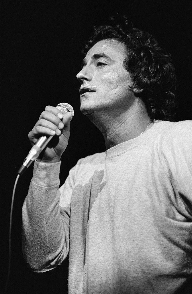 Richard Bohringer en concert à l'Olympia le 17 juin 1983