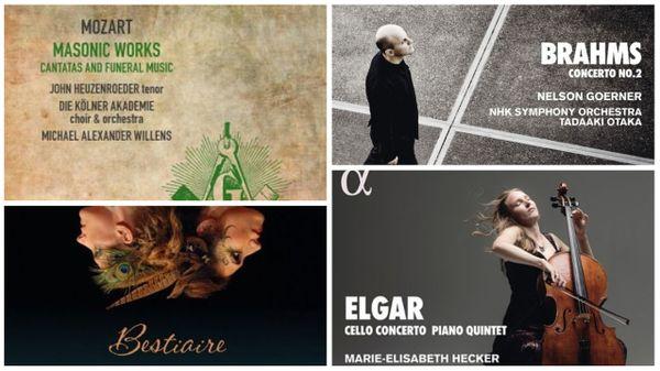Actualité du disque : Mozart, Elgar, Ravel...