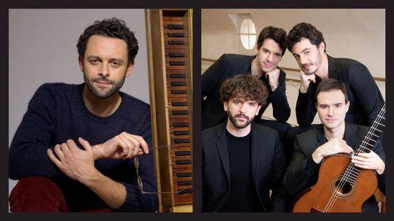 Benjamin Alard et le Quatuor Eclisses