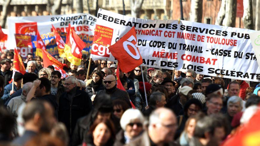 Mobilisation de fonctionnaires le 22 mars 2018