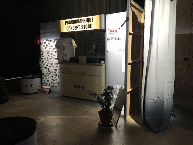"""Le """"pugnographique concept store"""" au Palais de Tokyo"""