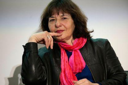 Colette Fellous, au Salon du Livre et de la Presse à Genève en Suisse le 2 mai 2015.