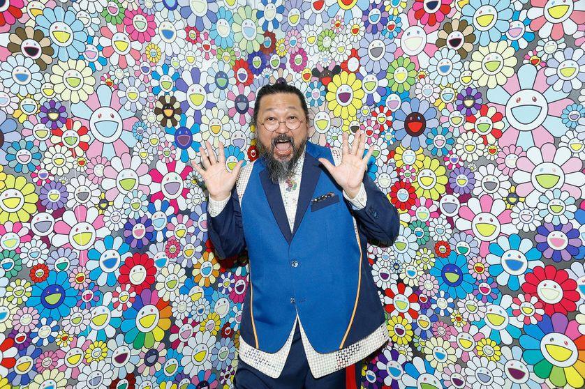 Murakami Takashi à la fondation Louis Vuitton.