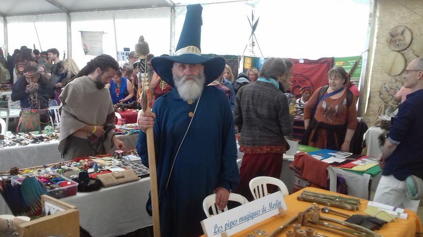 Merlin l'Enchanteur est un deo celte, l'homme de la terre